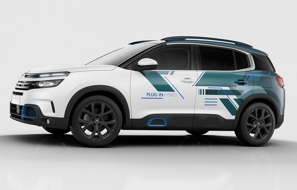 Teaser pentru lansarea versiunii plug-in hybrid a lui Citroen C5 Aircross: SUV-ul va oferi 225 de cai putere - Poza 2