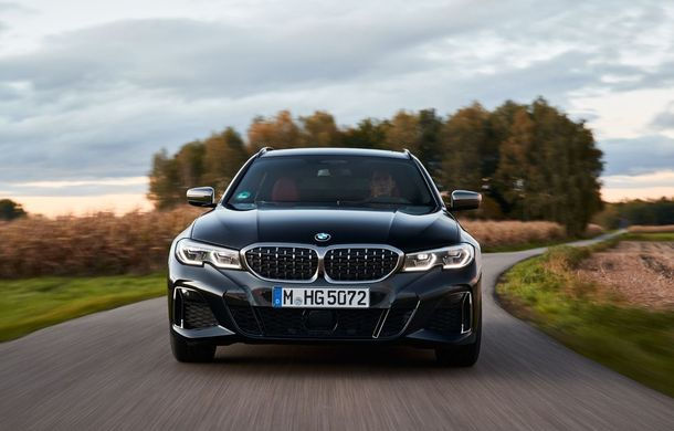 BMW Seria 3 Touring ar putea primi o nouă versiune diesel de top: M340d xDrive Touring va oferi 326 CP - Poza 1