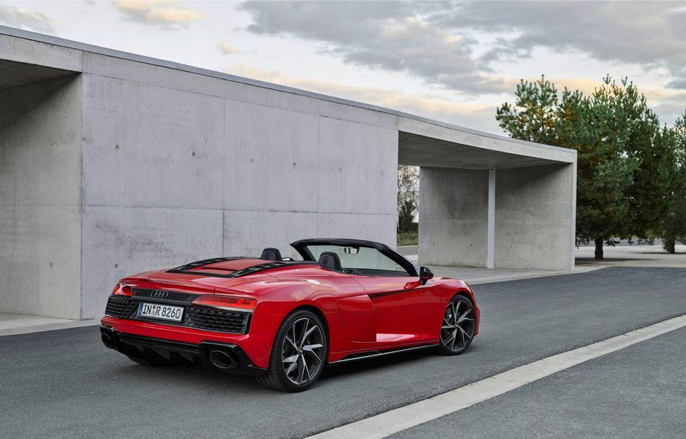 Audi a prezentat R8 V10 RWD: motor aspirat de 5.2 litri cu 540 CP și roți motrice spate - Poza 36