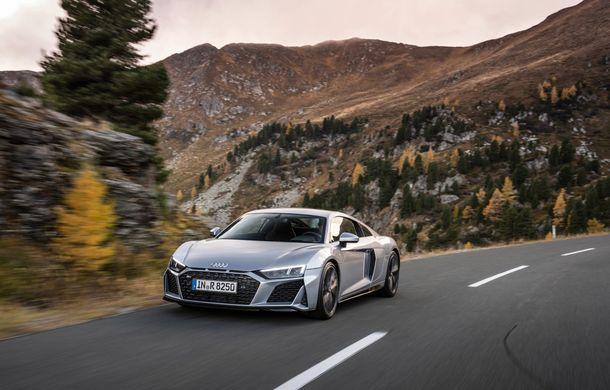 Audi a prezentat R8 V10 RWD: motor aspirat de 5.2 litri cu 540 CP și roți motrice spate - Poza 2