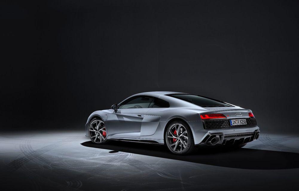 Audi a prezentat R8 V10 RWD: motor aspirat de 5.2 litri cu 540 CP și roți motrice spate - Poza 21
