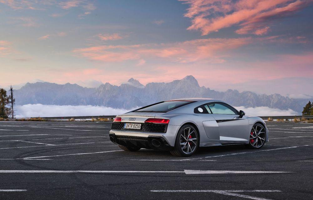 Audi a prezentat R8 V10 RWD: motor aspirat de 5.2 litri cu 540 CP și roți motrice spate - Poza 11