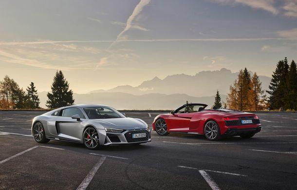 Audi a prezentat R8 V10 RWD: motor aspirat de 5.2 litri cu 540 CP și roți motrice spate - Poza 15