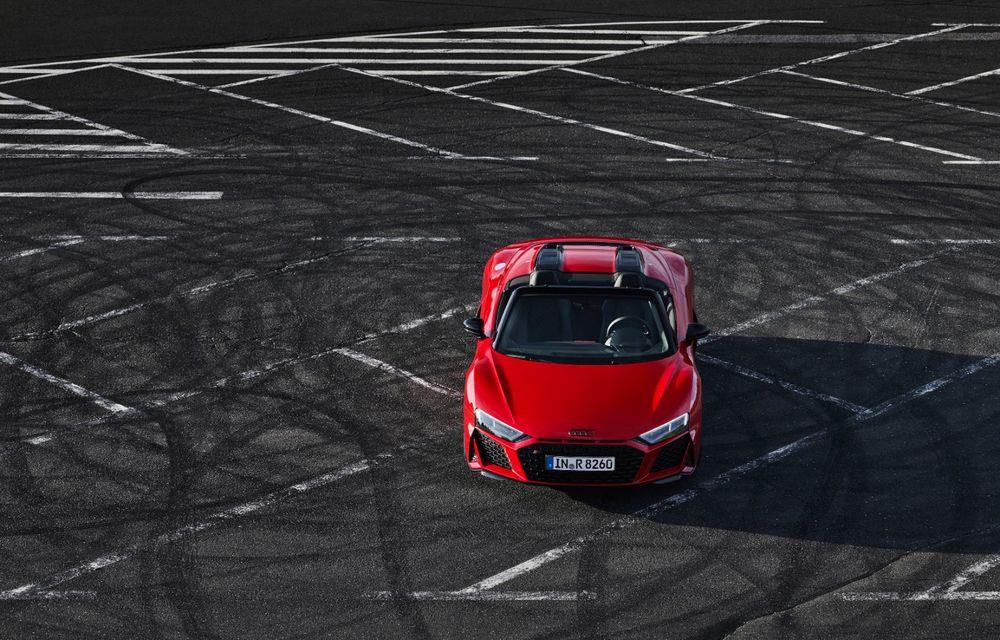 Audi a prezentat R8 V10 RWD: motor aspirat de 5.2 litri cu 540 CP și roți motrice spate - Poza 32