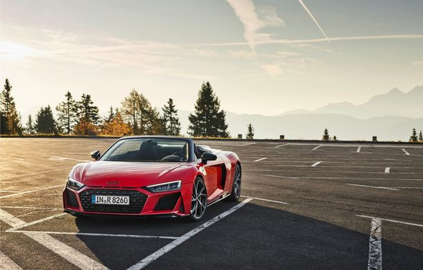 Audi a prezentat R8 V10 RWD: motor aspirat de 5.2 litri cu 540 CP și roți motrice spate - Poza 45
