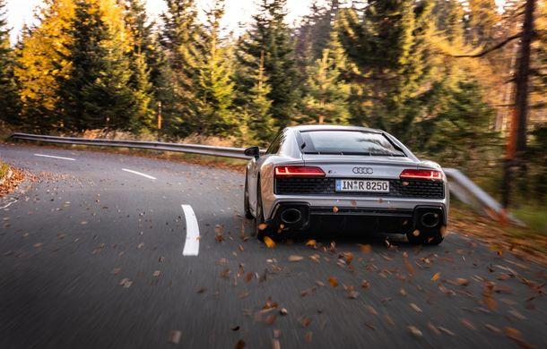 Audi a prezentat R8 V10 RWD: motor aspirat de 5.2 litri cu 540 CP și roți motrice spate - Poza 7
