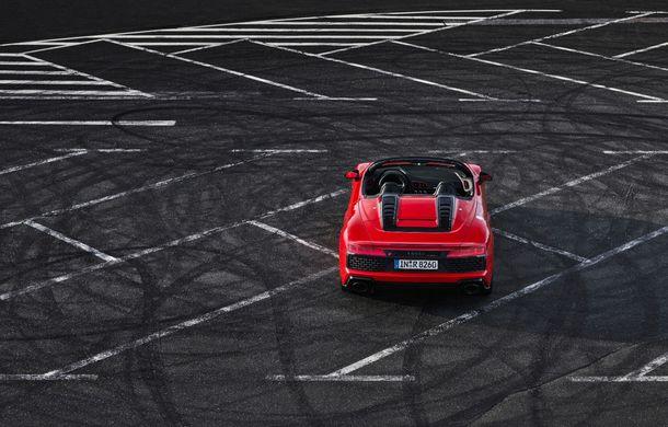 Audi a prezentat R8 V10 RWD: motor aspirat de 5.2 litri cu 540 CP și roți motrice spate - Poza 33