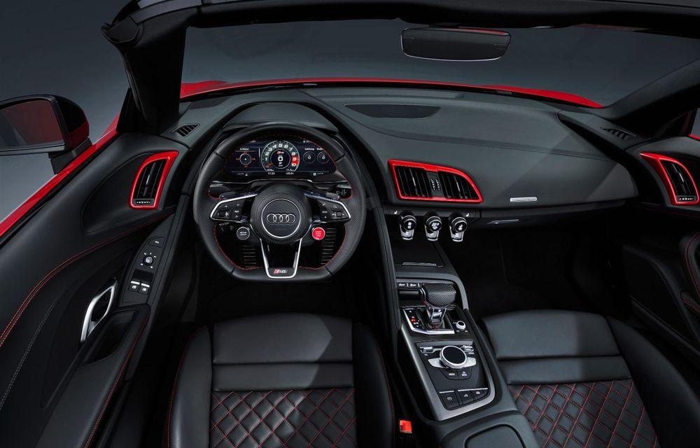 Audi a prezentat R8 V10 RWD: motor aspirat de 5.2 litri cu 540 CP și roți motrice spate - Poza 62