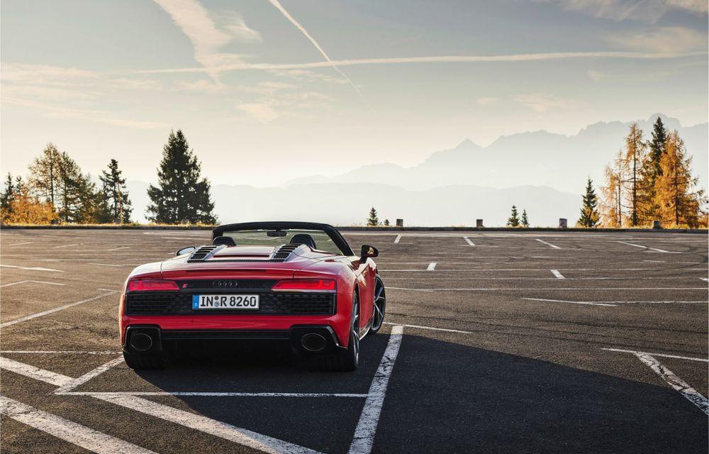 Audi a prezentat R8 V10 RWD: motor aspirat de 5.2 litri cu 540 CP și roți motrice spate - Poza 46