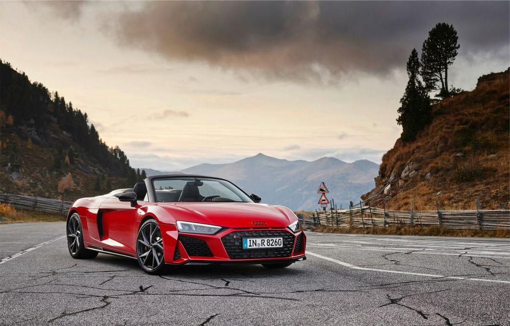 Audi a prezentat R8 V10 RWD: motor aspirat de 5.2 litri cu 540 CP și roți motrice spate - Poza 34
