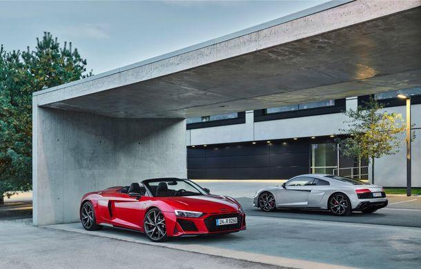 Audi a prezentat R8 V10 RWD: motor aspirat de 5.2 litri cu 540 CP și roți motrice spate - Poza 19