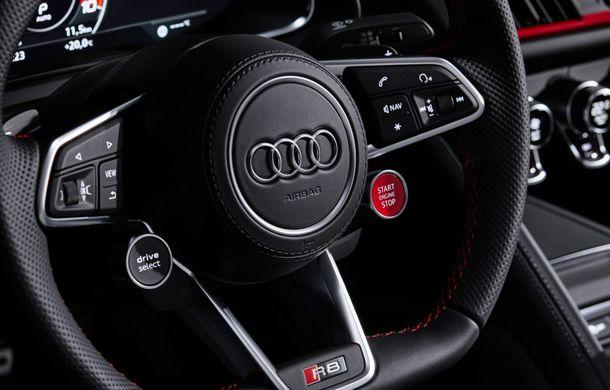 Audi a prezentat R8 V10 RWD: motor aspirat de 5.2 litri cu 540 CP și roți motrice spate - Poza 60
