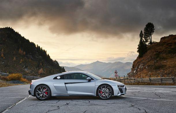 Audi a prezentat R8 V10 RWD: motor aspirat de 5.2 litri cu 540 CP și roți motrice spate - Poza 17