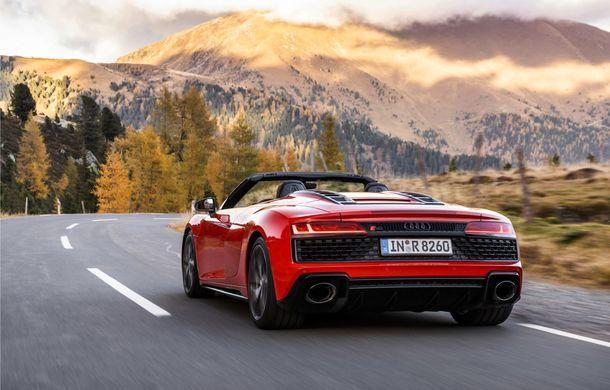 Audi a prezentat R8 V10 RWD: motor aspirat de 5.2 litri cu 540 CP și roți motrice spate - Poza 29