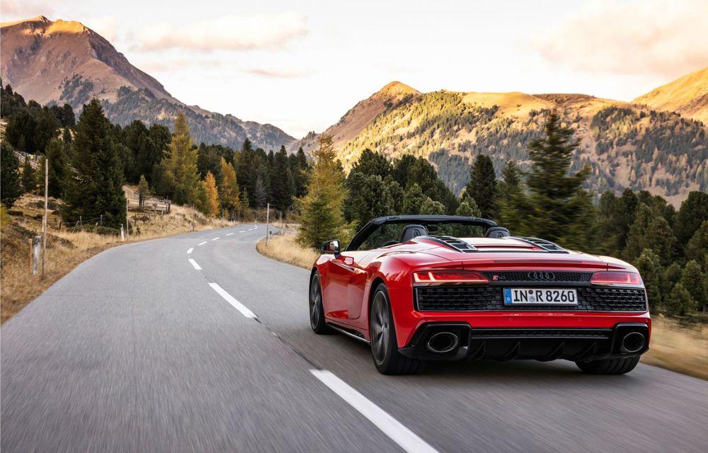 Audi a prezentat R8 V10 RWD: motor aspirat de 5.2 litri cu 540 CP și roți motrice spate - Poza 30