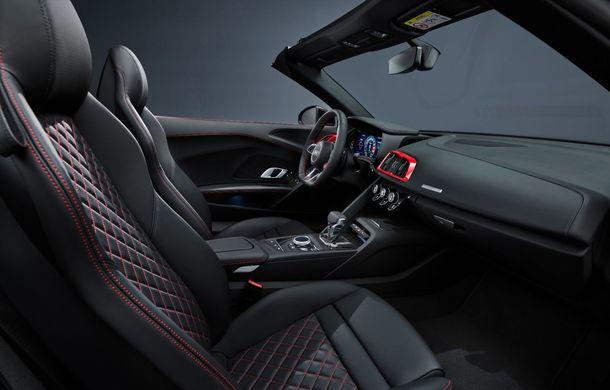 Audi a prezentat R8 V10 RWD: motor aspirat de 5.2 litri cu 540 CP și roți motrice spate - Poza 57
