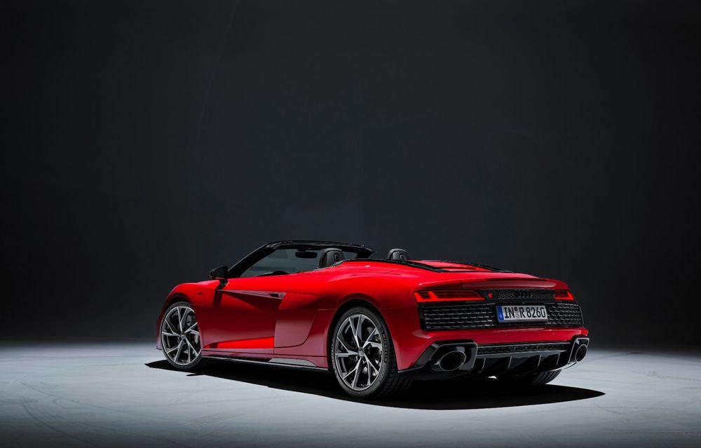 Audi a prezentat R8 V10 RWD: motor aspirat de 5.2 litri cu 540 CP și roți motrice spate - Poza 39