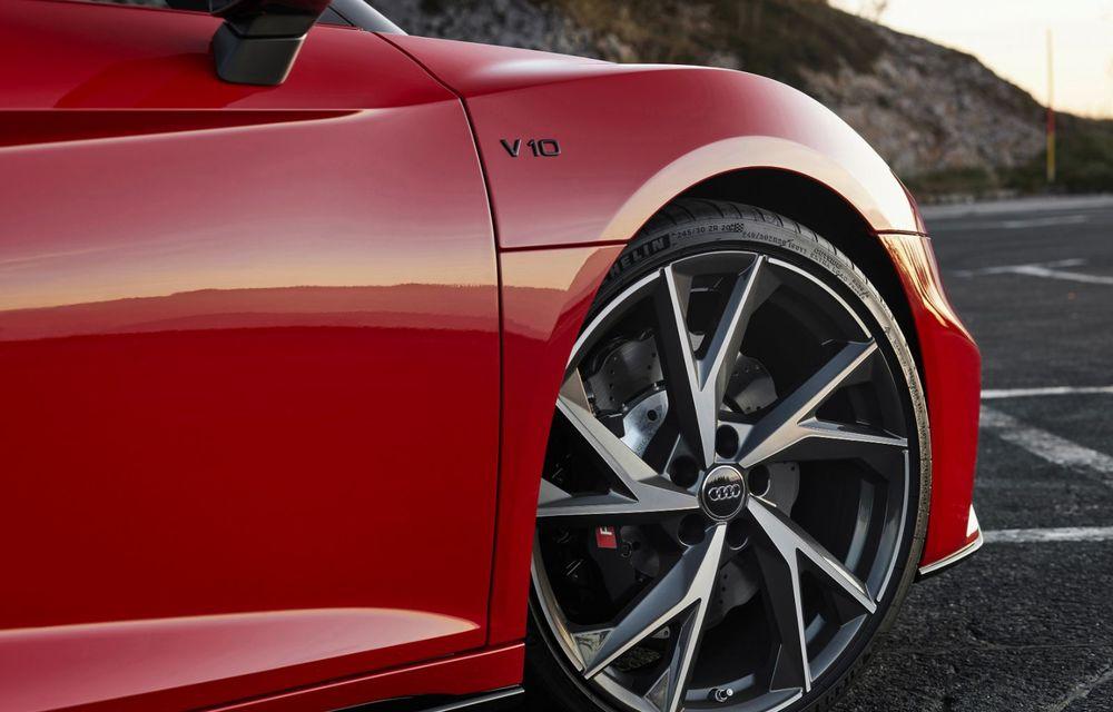 Audi a prezentat R8 V10 RWD: motor aspirat de 5.2 litri cu 540 CP și roți motrice spate - Poza 53