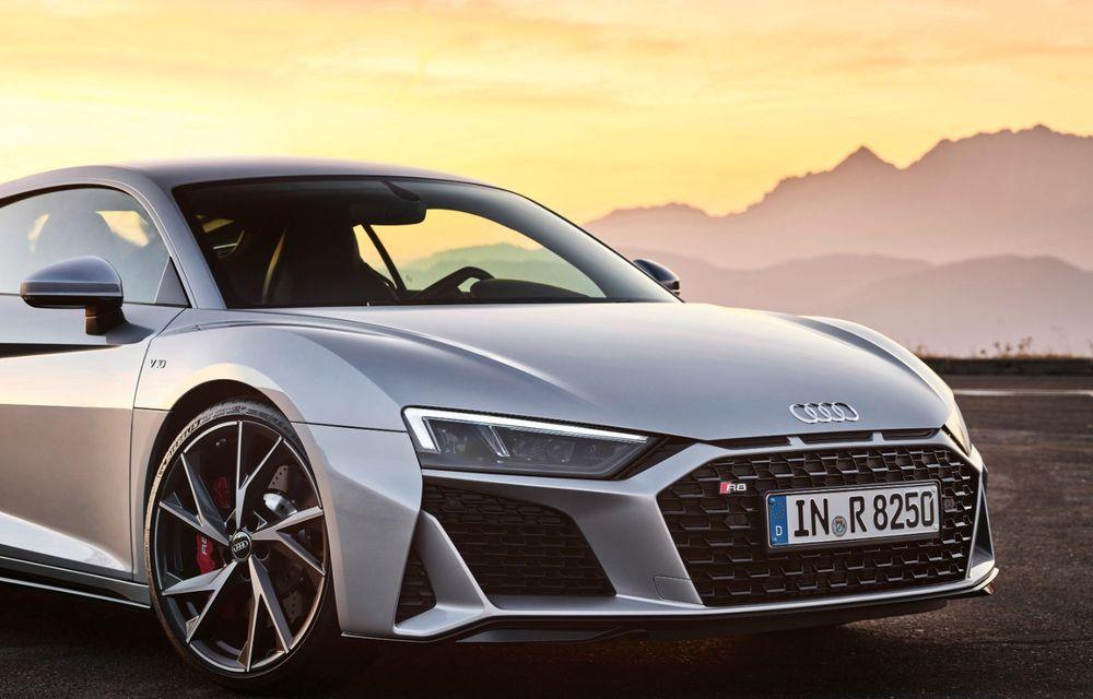 Audi a prezentat R8 V10 RWD: motor aspirat de 5.2 litri cu 540 CP și roți motrice spate - Poza 49