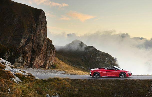 Audi a prezentat R8 V10 RWD: motor aspirat de 5.2 litri cu 540 CP și roți motrice spate - Poza 42