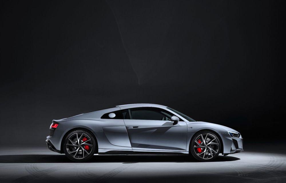 Audi a prezentat R8 V10 RWD: motor aspirat de 5.2 litri cu 540 CP și roți motrice spate - Poza 23