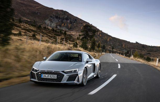 Audi a prezentat R8 V10 RWD: motor aspirat de 5.2 litri cu 540 CP și roți motrice spate - Poza 3