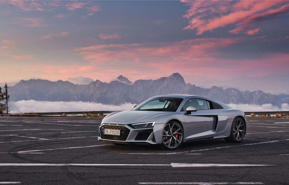 Audi a prezentat R8 V10 RWD: motor aspirat de 5.2 litri cu 540 CP și roți motrice spate - Poza 10