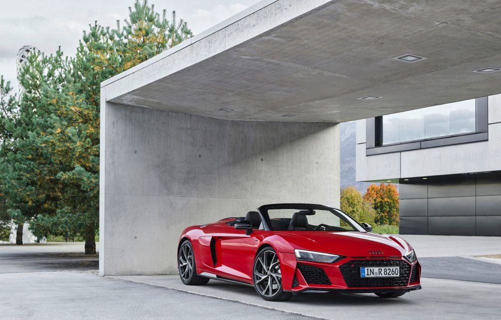 Audi a prezentat R8 V10 RWD: motor aspirat de 5.2 litri cu 540 CP și roți motrice spate - Poza 38