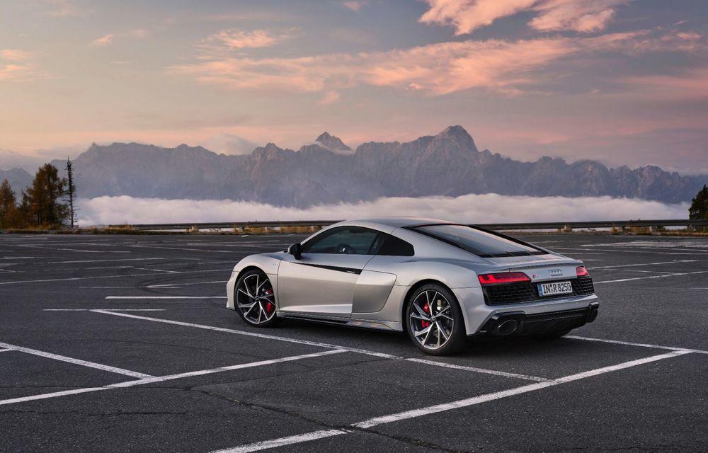 Audi a prezentat R8 V10 RWD: motor aspirat de 5.2 litri cu 540 CP și roți motrice spate - Poza 12
