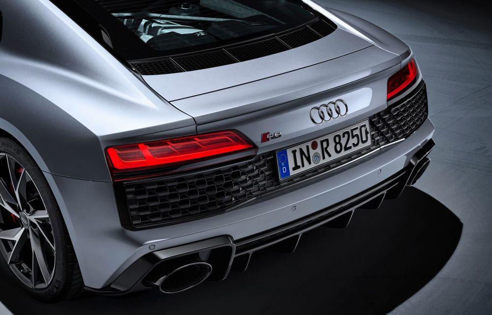 Audi a prezentat R8 V10 RWD: motor aspirat de 5.2 litri cu 540 CP și roți motrice spate - Poza 50