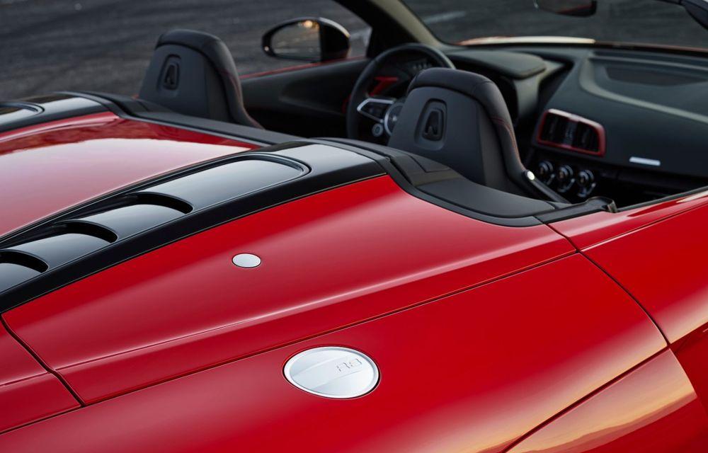 Audi a prezentat R8 V10 RWD: motor aspirat de 5.2 litri cu 540 CP și roți motrice spate - Poza 54