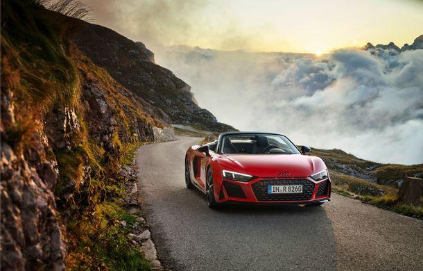 Audi a prezentat R8 V10 RWD: motor aspirat de 5.2 litri cu 540 CP și roți motrice spate - Poza 41