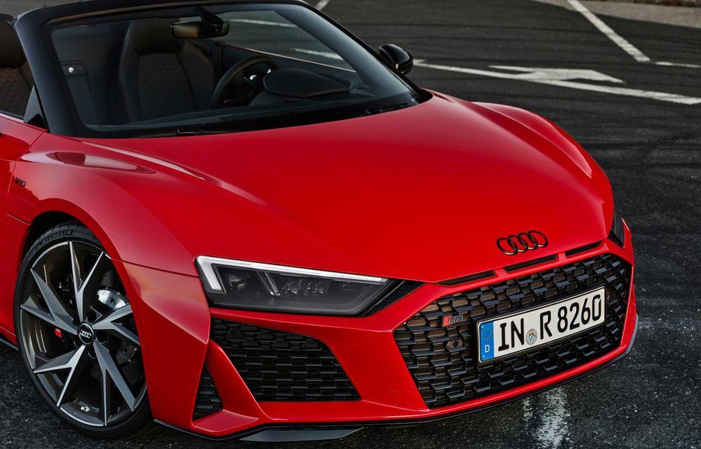 Audi a prezentat R8 V10 RWD: motor aspirat de 5.2 litri cu 540 CP și roți motrice spate - Poza 51