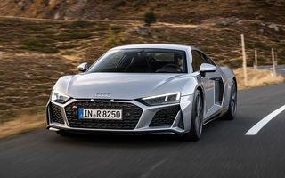 Audi a prezentat R8 V10 RWD: motor aspirat de 5.2 litri cu 540 CP și roți motrice spate