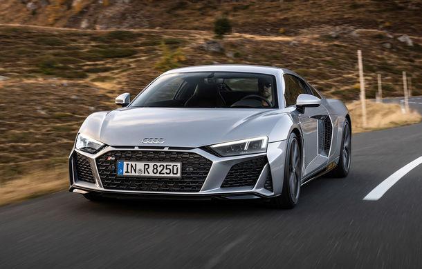 Audi a prezentat R8 V10 RWD: motor aspirat de 5.2 litri cu 540 CP și roți motrice spate - Poza 1