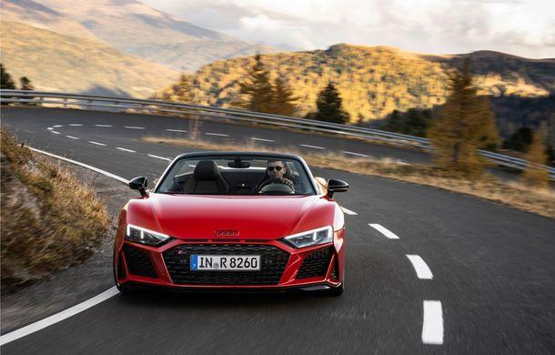 Audi a prezentat R8 V10 RWD: motor aspirat de 5.2 litri cu 540 CP și roți motrice spate - Poza 26