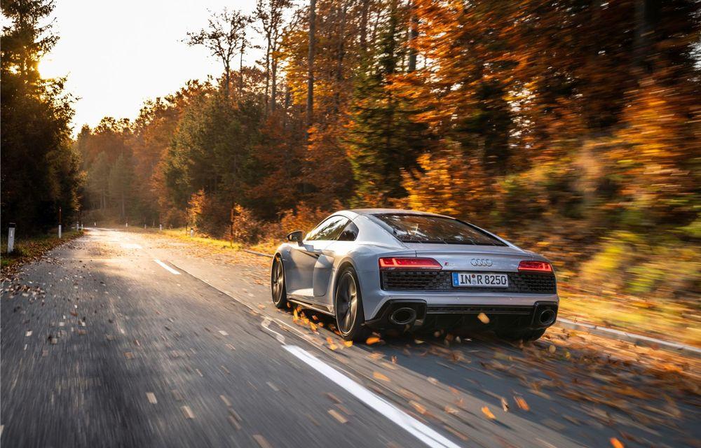 Audi a prezentat R8 V10 RWD: motor aspirat de 5.2 litri cu 540 CP și roți motrice spate - Poza 6