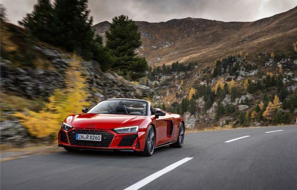 Audi a prezentat R8 V10 RWD: motor aspirat de 5.2 litri cu 540 CP și roți motrice spate - Poza 27