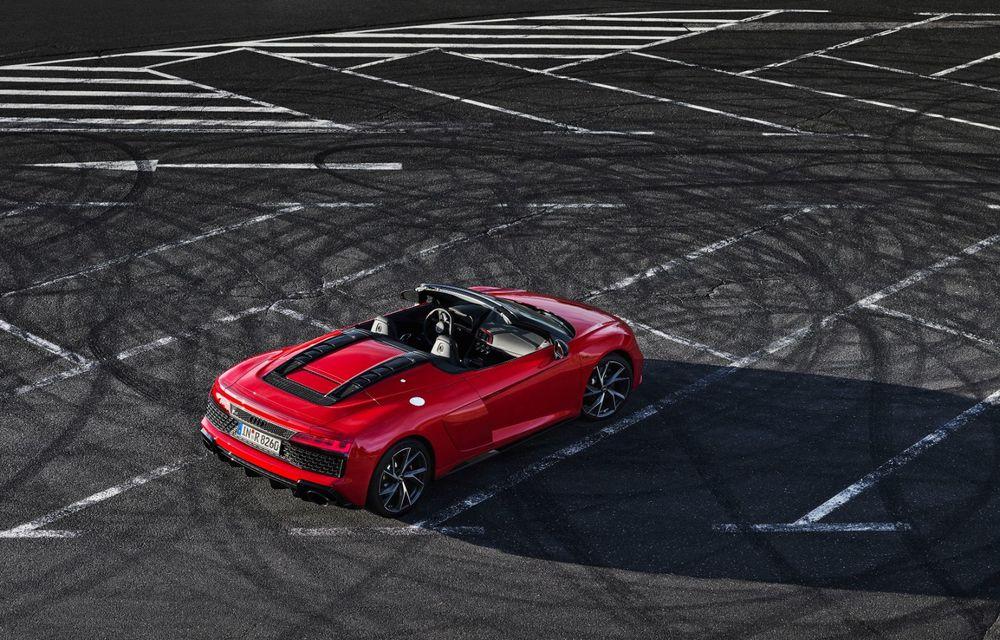 Audi a prezentat R8 V10 RWD: motor aspirat de 5.2 litri cu 540 CP și roți motrice spate - Poza 47