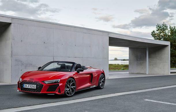 Audi a prezentat R8 V10 RWD: motor aspirat de 5.2 litri cu 540 CP și roți motrice spate - Poza 37