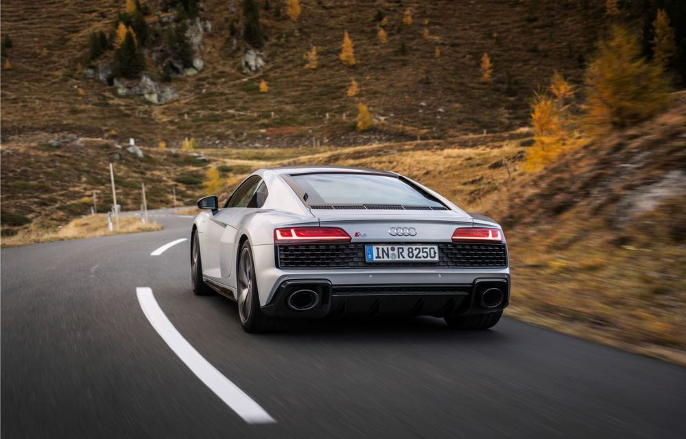 Audi a prezentat R8 V10 RWD: motor aspirat de 5.2 litri cu 540 CP și roți motrice spate - Poza 5