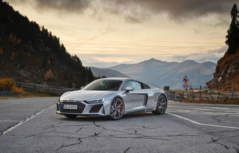 Audi a prezentat R8 V10 RWD: motor aspirat de 5.2 litri cu 540 CP și roți motrice spate - Poza 16
