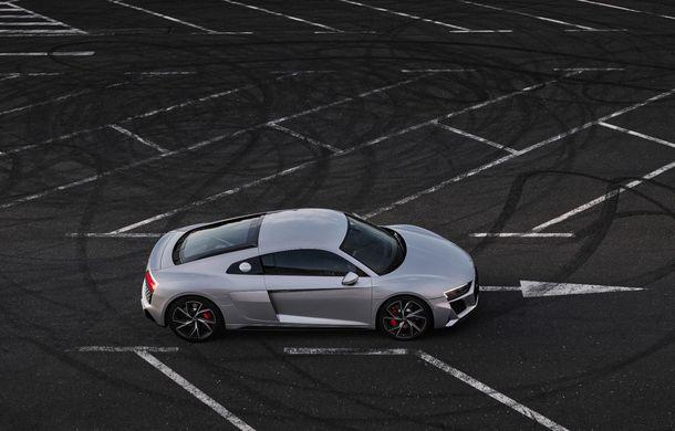 Audi a prezentat R8 V10 RWD: motor aspirat de 5.2 litri cu 540 CP și roți motrice spate - Poza 14