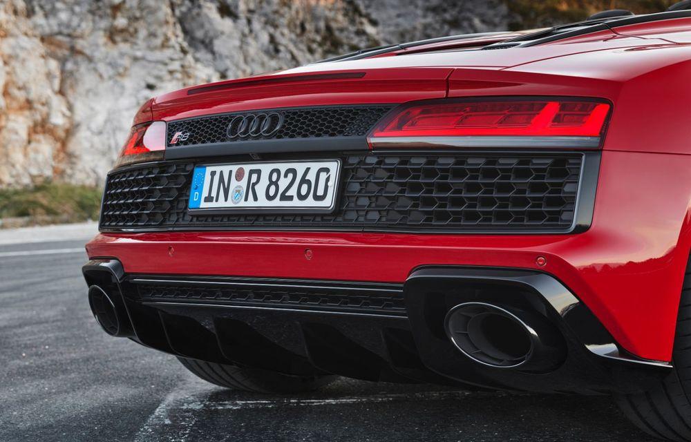 Audi a prezentat R8 V10 RWD: motor aspirat de 5.2 litri cu 540 CP și roți motrice spate - Poza 52