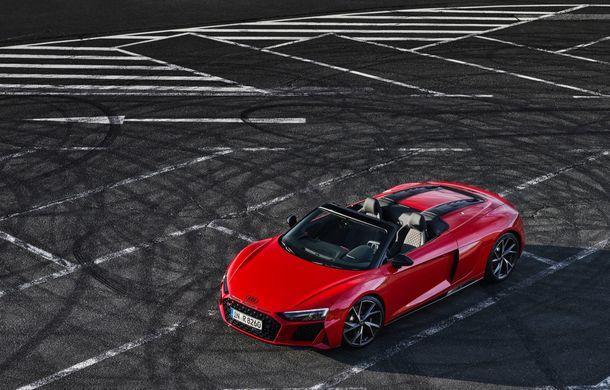 Audi a prezentat R8 V10 RWD: motor aspirat de 5.2 litri cu 540 CP și roți motrice spate - Poza 48