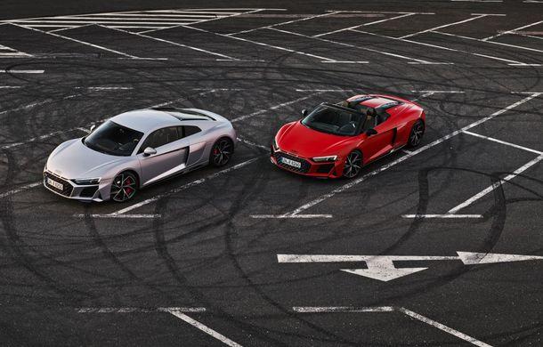 Audi a prezentat R8 V10 RWD: motor aspirat de 5.2 litri cu 540 CP și roți motrice spate - Poza 13
