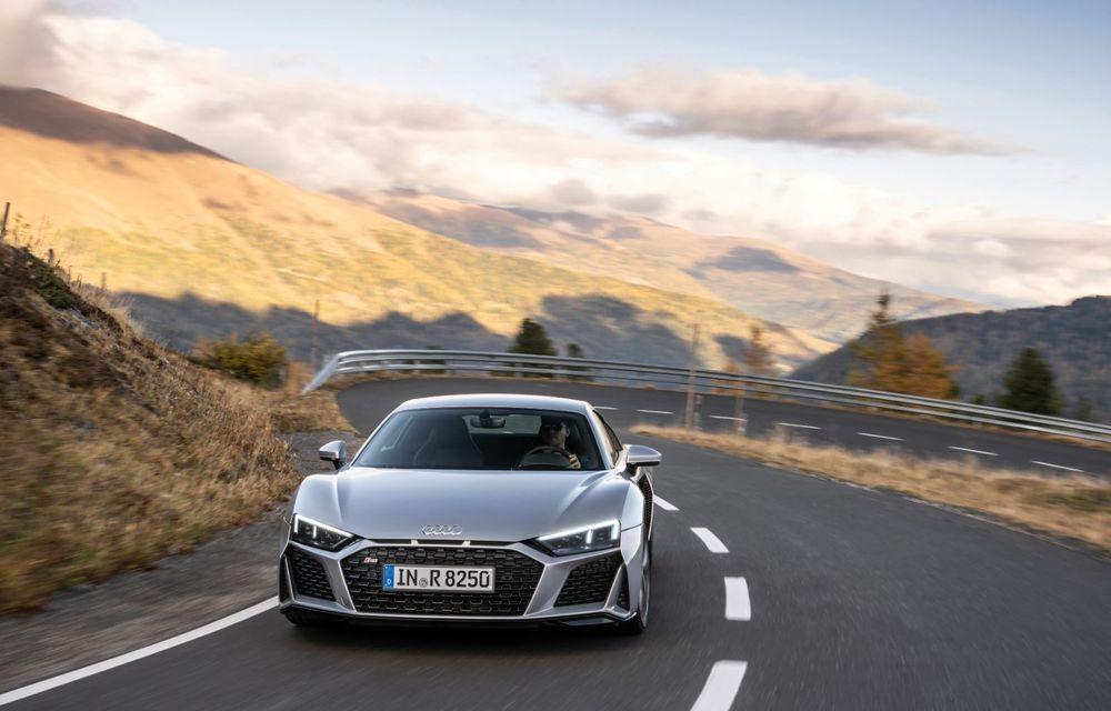 Audi a prezentat R8 V10 RWD: motor aspirat de 5.2 litri cu 540 CP și roți motrice spate - Poza 4
