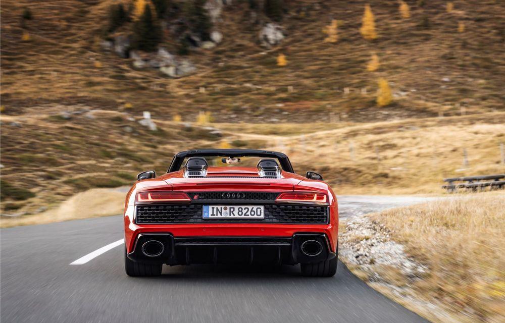 Audi a prezentat R8 V10 RWD: motor aspirat de 5.2 litri cu 540 CP și roți motrice spate - Poza 31
