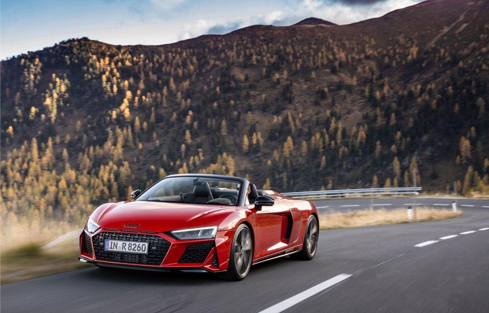 Audi a prezentat R8 V10 RWD: motor aspirat de 5.2 litri cu 540 CP și roți motrice spate - Poza 28