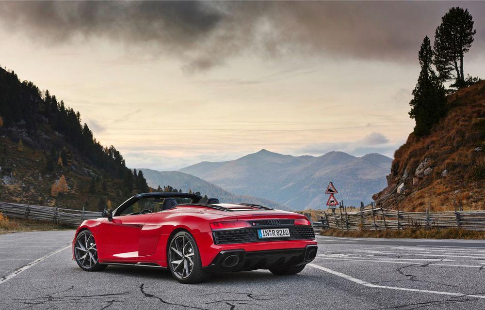 Audi a prezentat R8 V10 RWD: motor aspirat de 5.2 litri cu 540 CP și roți motrice spate - Poza 35